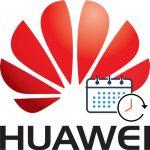 Registro de jornada laboral con movil Huawei