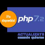 Hosting con PHP 7.2 ya disponible en hosting dedicado y compartido